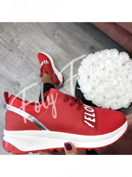***SNEAKER LOVE RED***