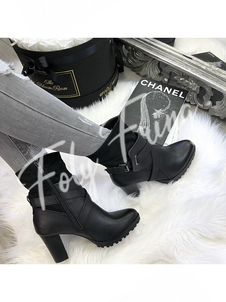 BOTTINES GIRLY CHIC BLACK ****NEW SEASON COLLECTION****