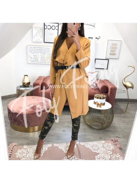 *** TRENCH FASHIONISTA MOUTARDE ***