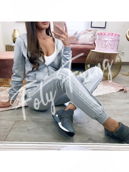 **** ENSEMBLE PREMIUM SHINY GREY JESS COLLECTION***