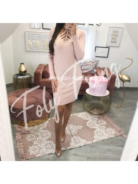 **** ROBE PULL PEARLS PINK ****