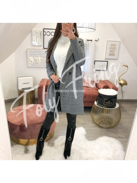 *** MANTEAU VESTE GREY ***