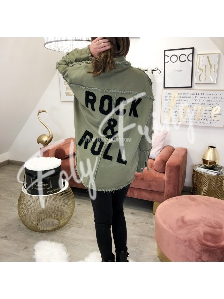 *** VESTE DENIM ROCK'N'ROLL ****