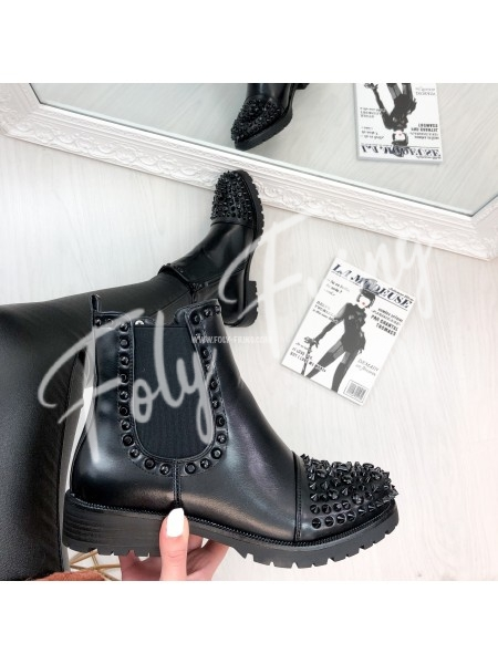 *** BOOTS ROCK FASHIONISTA BLACK ***