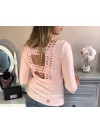 TOP BRODERIE PINK