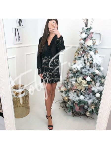 *** ROBE CHEMISE GOLDEN SEQUINS CHRISTMAS EDITION ***