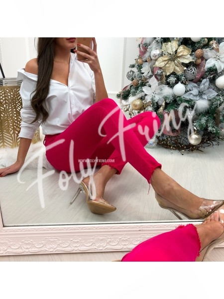 *** JEANS SKINNY NEON PINK ***