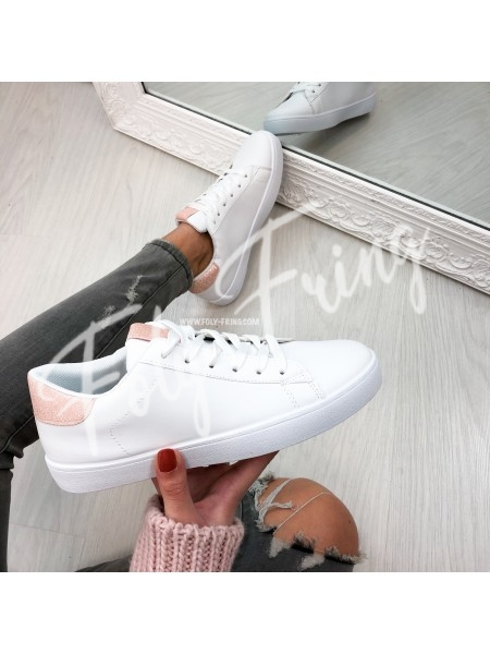*** SNEAKERS WHITE & PINK ***