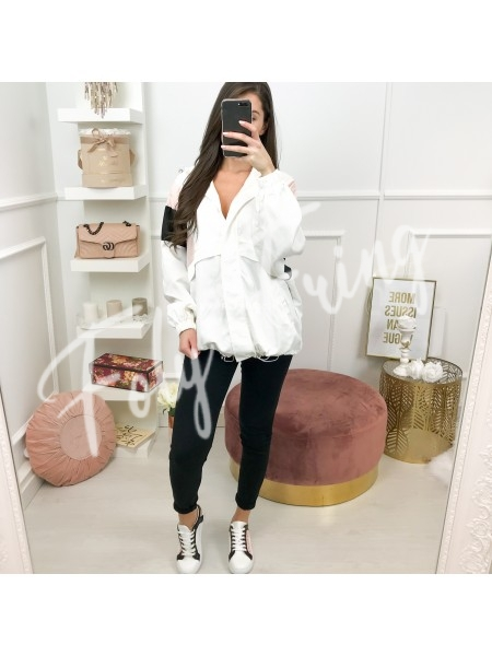 ***BLOUSE SPORT STYLE WHITE ***
