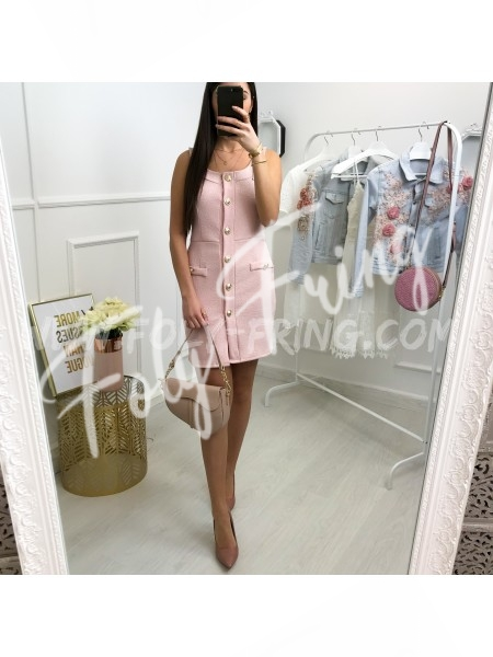 *** ROBE CHIC OFFIER ROSE TENDRE ***
