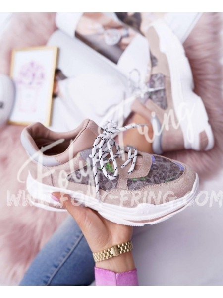 *** SNEAKERS FASHIONISTA LEOPARD ***