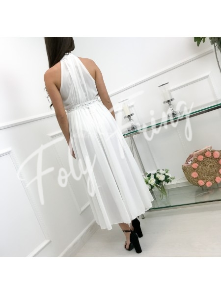 *** COLLECTION LIMITEE MAXI ROBE CEREMONIE WHITE ***