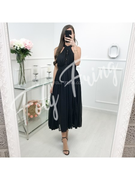 *** COLLECTION LIMITEE MAXI ROBE CEREMONIE BLACK ***