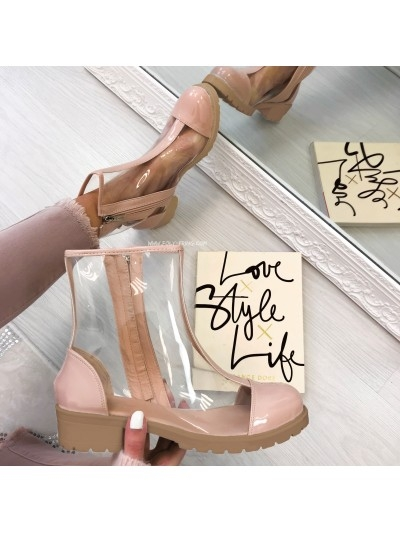*** BOTTINES KARL NUDE ***