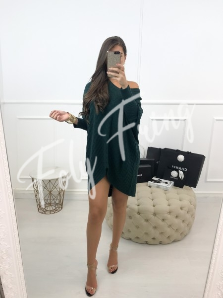 *** ROBE PULL MAILLE GREEN ***
