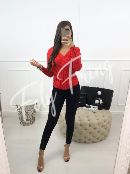 *** PULL MAILLE FINE RED ***