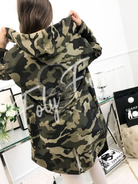 *** MAXI VESTE SWEAT CAMO...