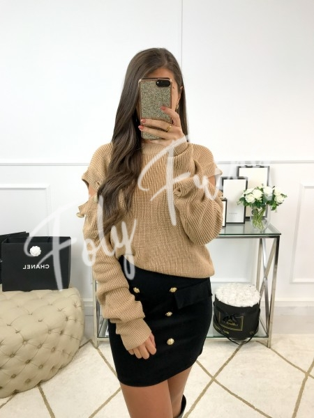 *** PULL EPAULES OUVERTES...