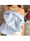 BUSTIER INSPI HAUTE COUTURE VICHY