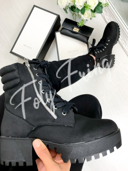 *** BOOTS ALL BLACK FALL...