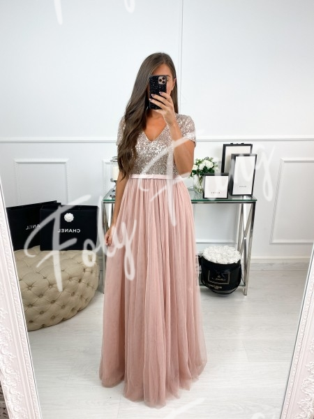 *** ROBE FEERIE ROSE TENDRE...