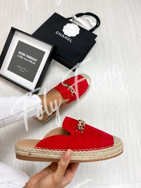 ESPADRILLES FASHIONISTA RED