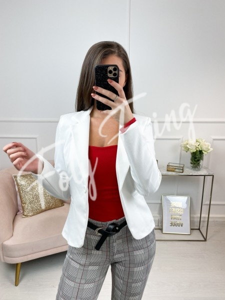 BLAZER WORKING GIRL WHITE