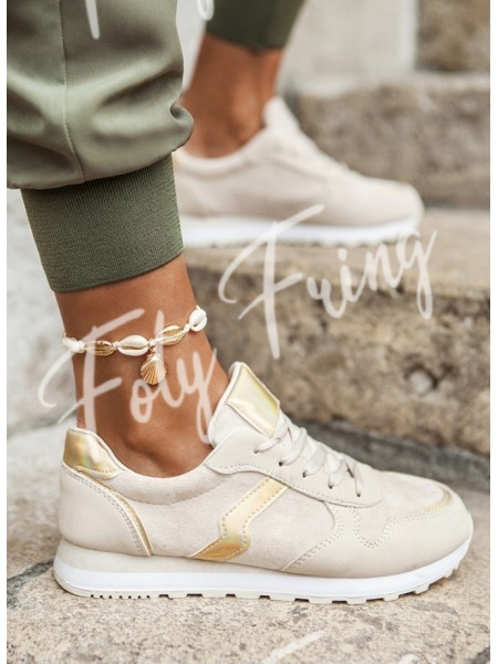 SNEAKERS FASHIONISTA GOLD &...