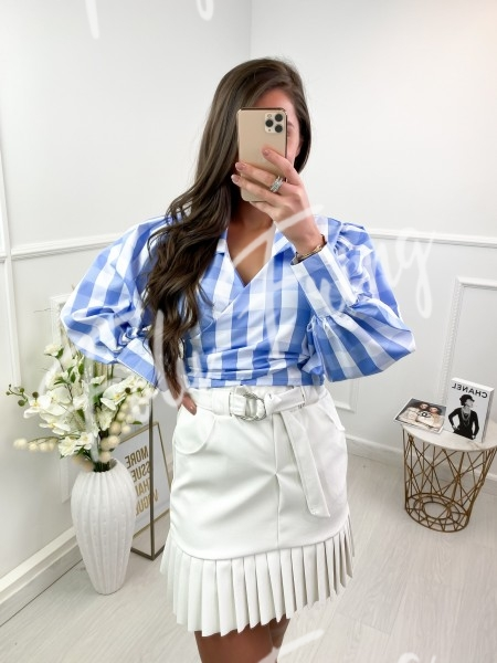 CHEMISE CROPPED CACHE COEUR...
