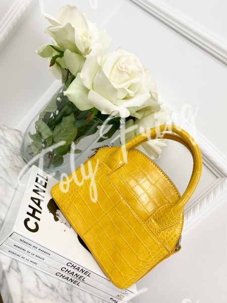 SAC CROCO YELLOW
