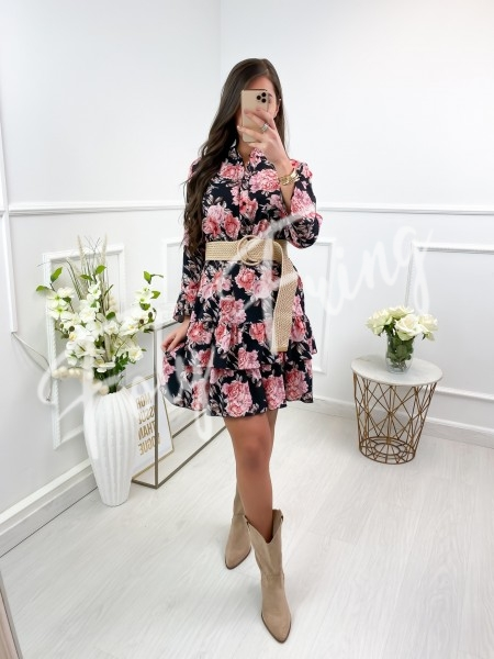 ROBE FASHIONISTA FLOWERS &...