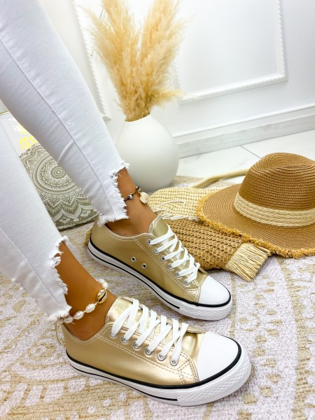 SNEAKERS FASHIONISTA GOLD