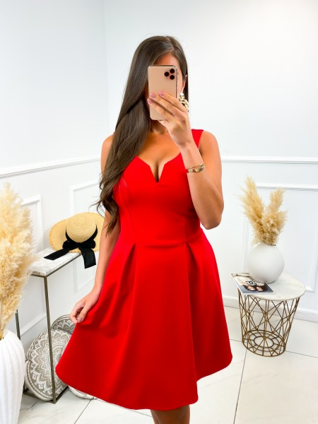 ROBE PATINEUSE FASHIONISTA RED