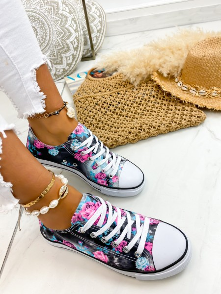 SNEAKERS FASHIONISTA ROSES...