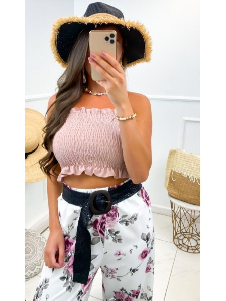 TOP CROPPED FASHIONISTA...