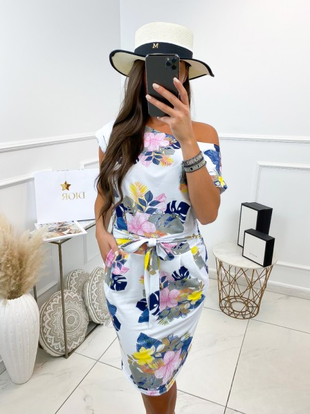 ROBE A NOUER MAXI FLOWERS...